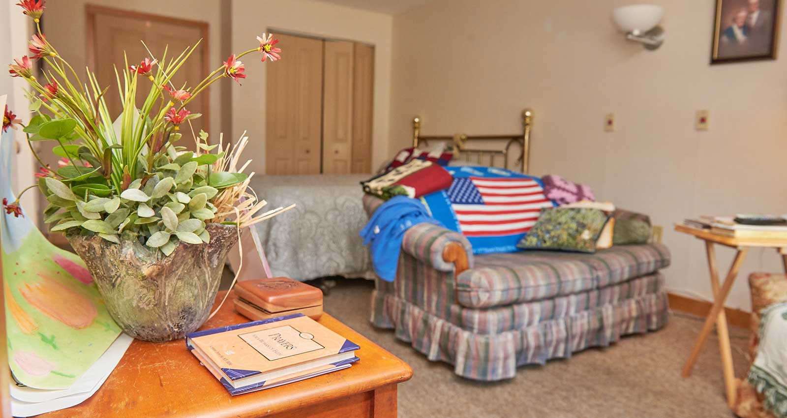 Comfortable Rooms in LaFayette Manor, Inc.