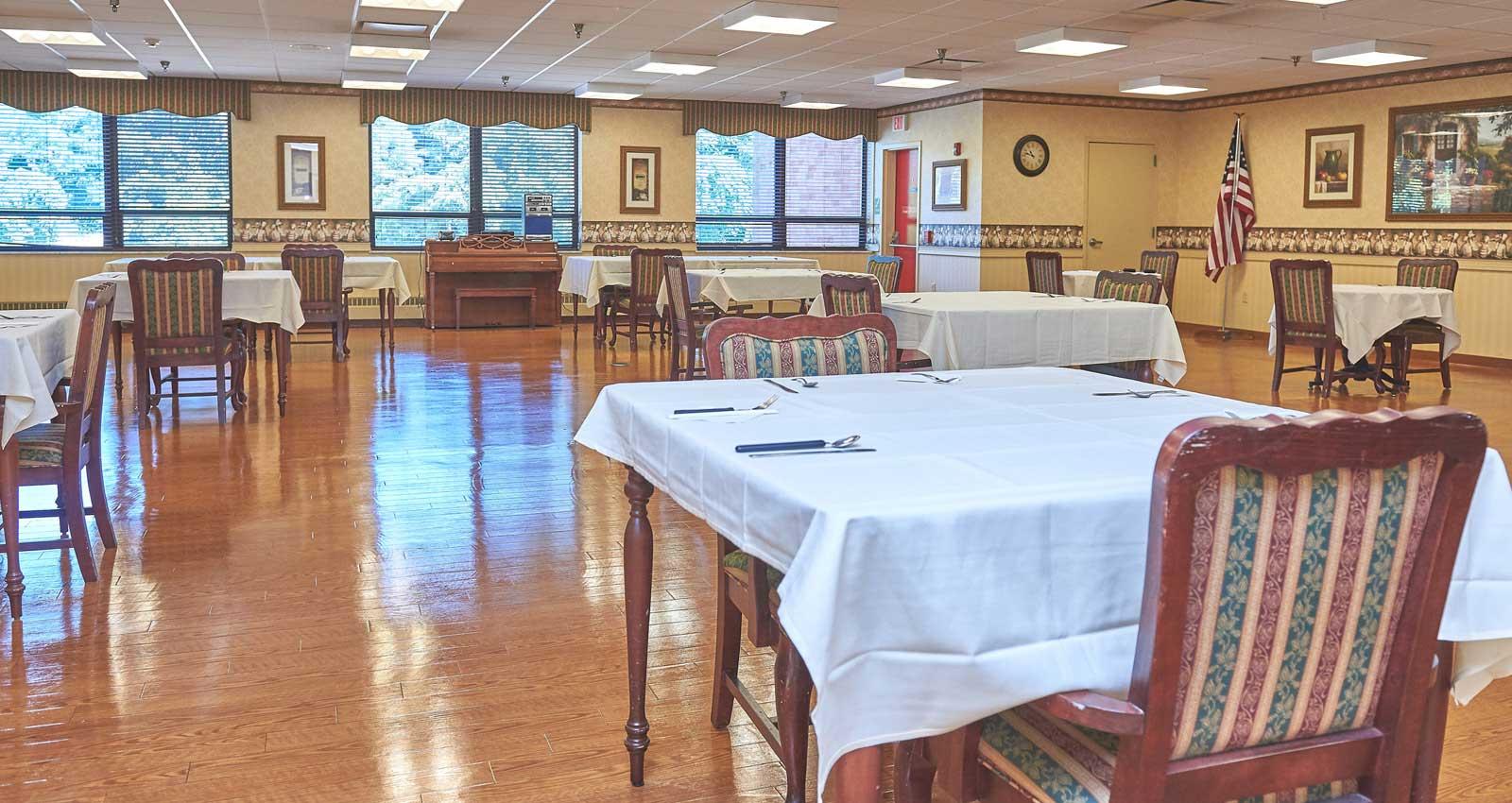 LaFayette Manor Inc. Dinning Area
